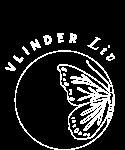 Beeldmerk 2 Vlinder Liv wit